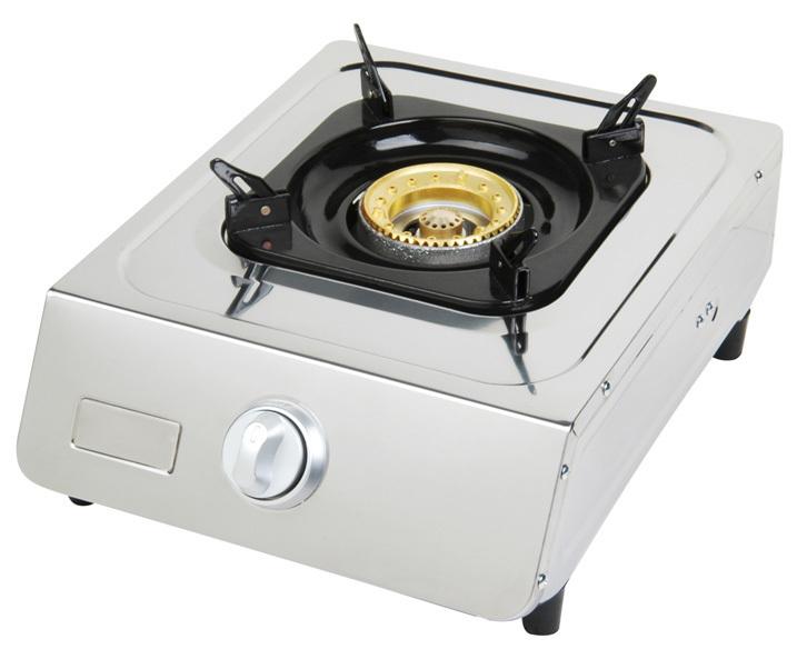edelstahl camping gaskocher 1 flammig lpg gasherd 5 kw neu ovp. Black Bedroom Furniture Sets. Home Design Ideas